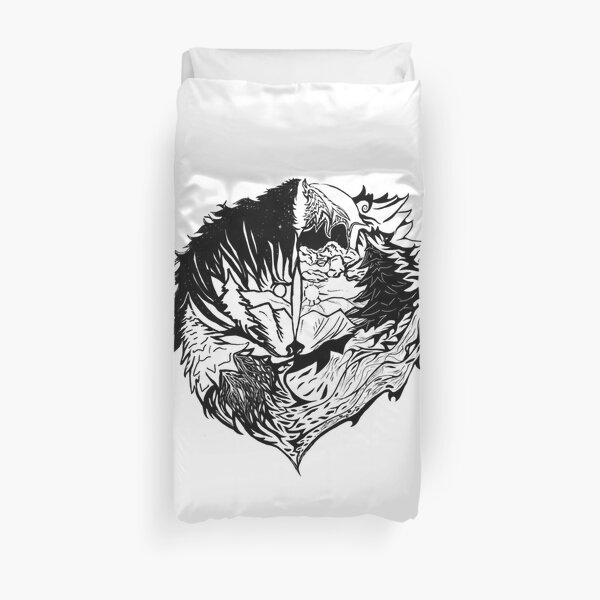 What Makes us Wild! Duvet Cover