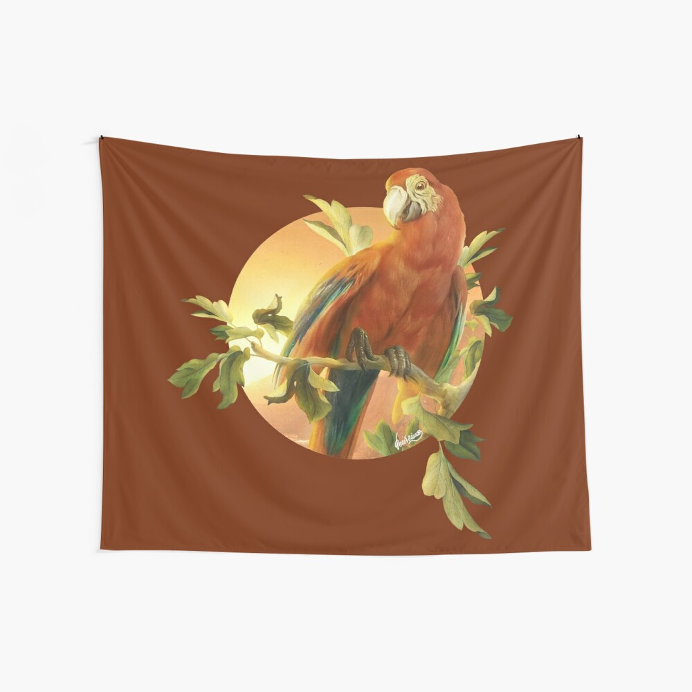 Parrot 2 Wall Tapestry