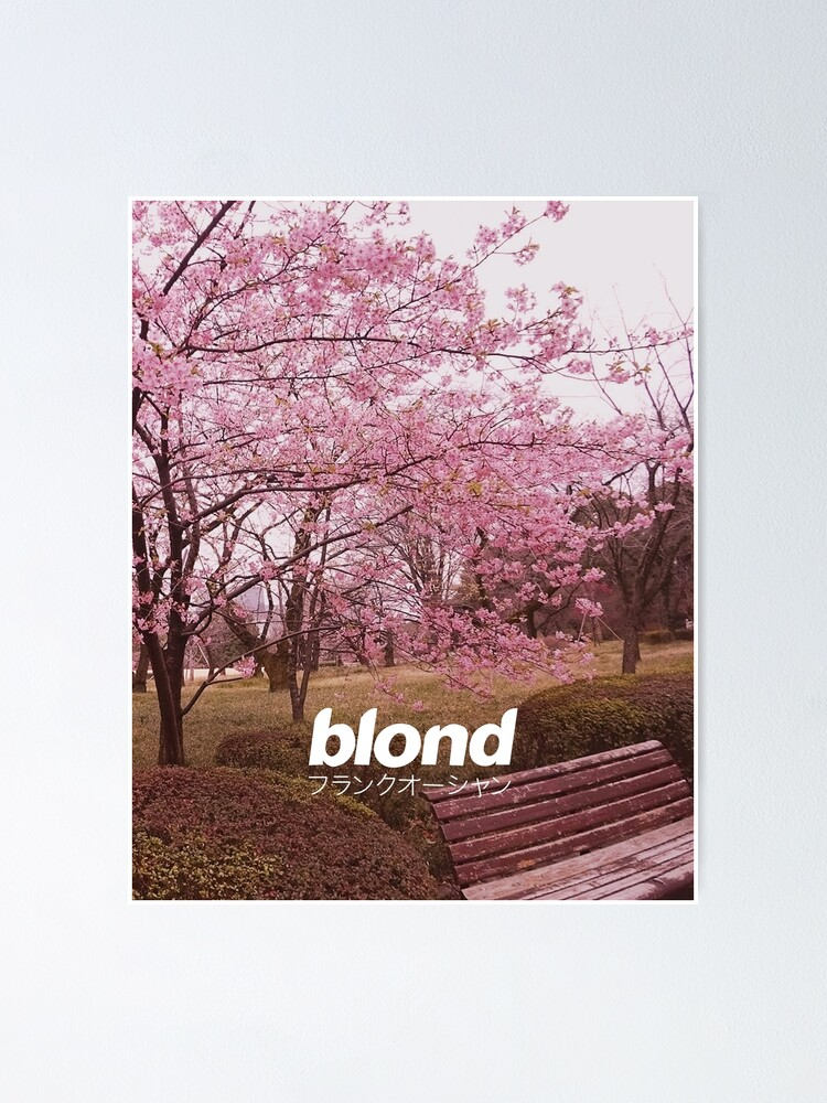 Alternate view of Frank Ocean Blond | Japanese Cherry Blossom Version  Poster