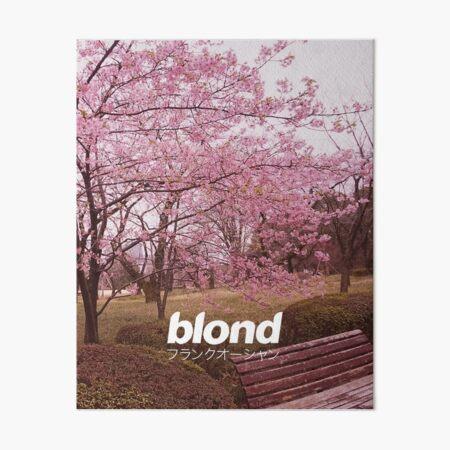 Frank Ocean Blond | Japanese Cherry Blossom Version  Art Board Print