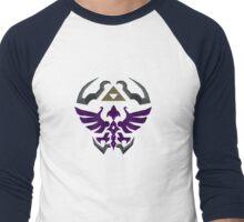 Hylian Shield: Dark Men's Baseball ¾ T-Shirt