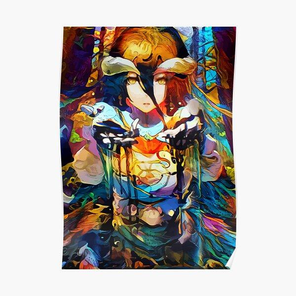 Colorful Jungle Waifu Poster