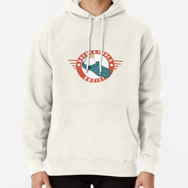 Socks and Crocs Society Crest Pullover Hoodie