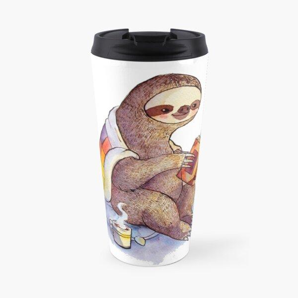 Cozy Sloth Travel Mug