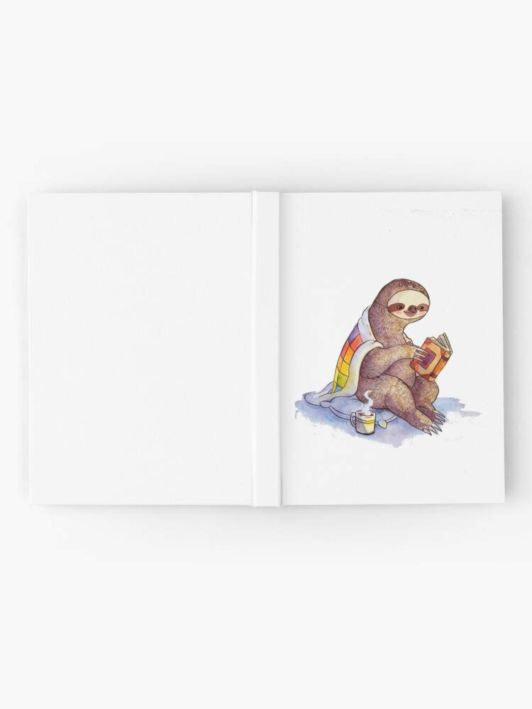 Alternate view of Cozy Sloth Hardcover Journal