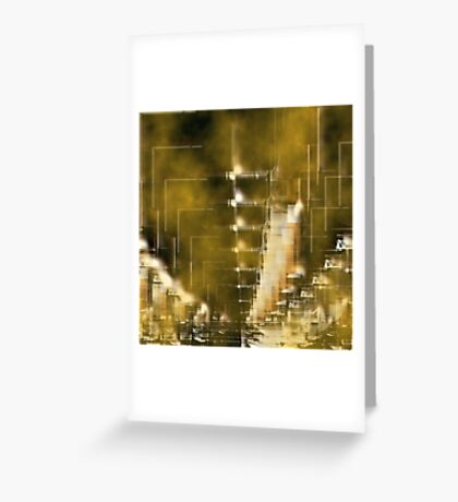 City by night 13 Greeting Card
