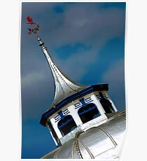 Llandudno Pier Roof Poster