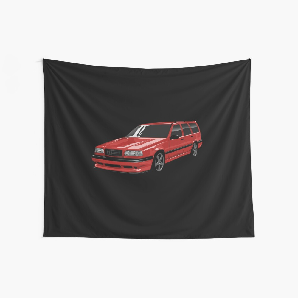 Roter Wagen 850R Wandbehang