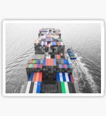 Maritim - Containerschiff Sticker