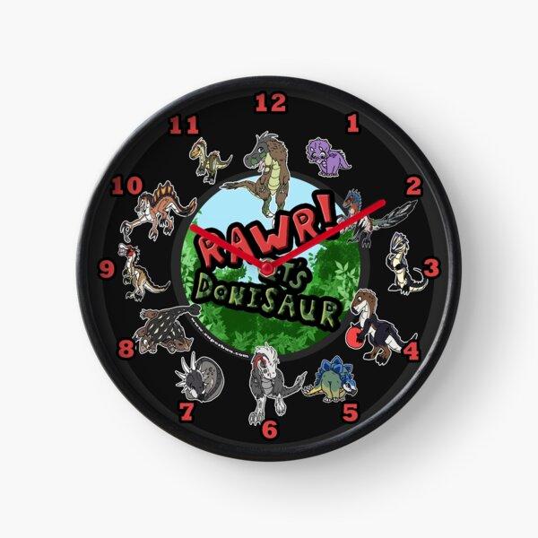 Donisaur Dinos Clock