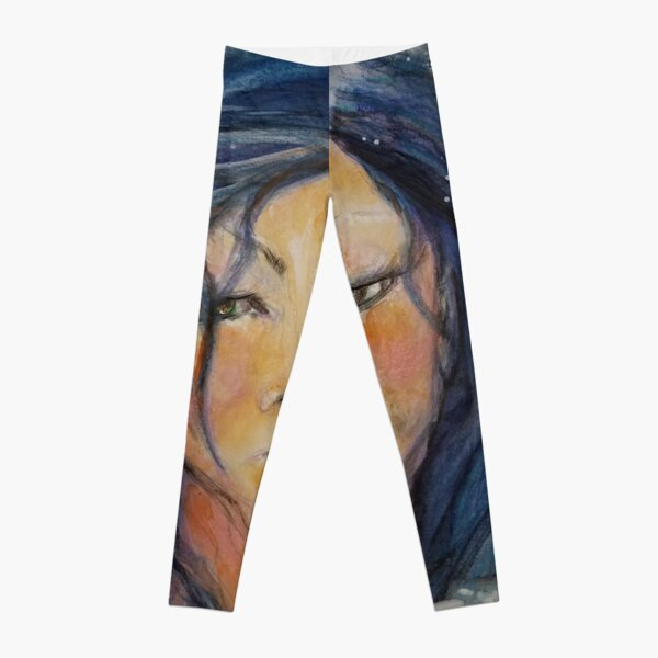 With Brave Wings She She Flies Leggings