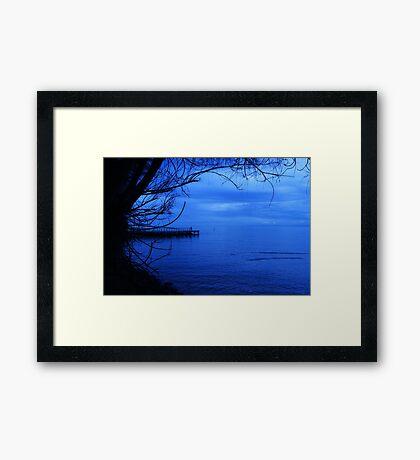 Moody Blues... Framed Print