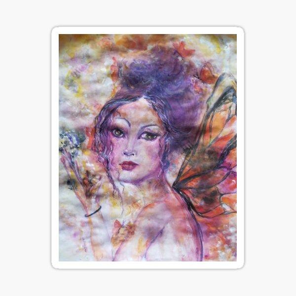 Angels In The Garden Sticker