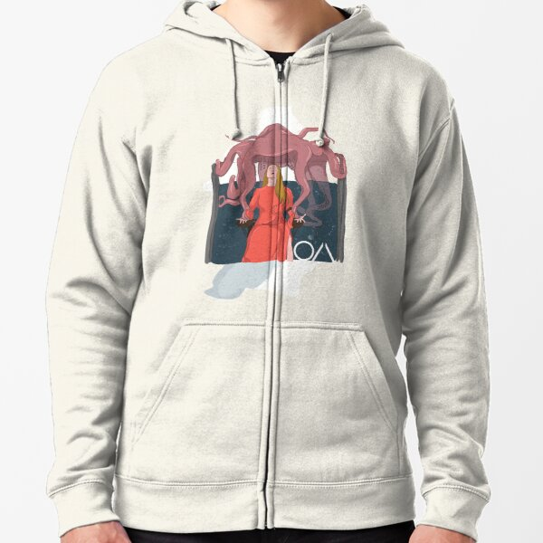 The OA Octopus - Old Night Zipped Hoodie