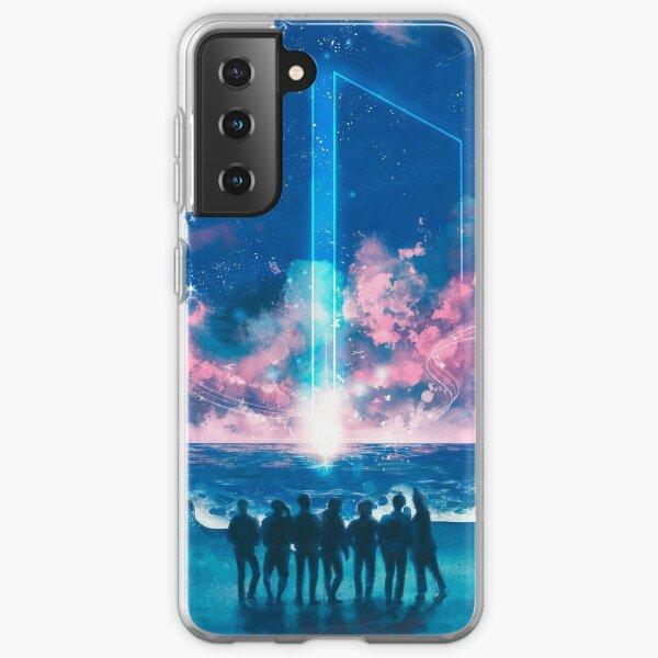 BTS Galaxy Funda blanda para Samsung Galaxy