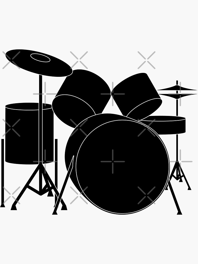 Detailed Drumkit by THPStock