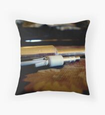 plug in (&) baby. ii Throw Pillow