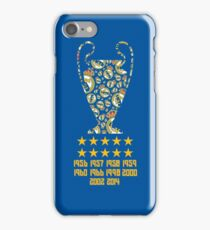 Real Madrid - Champions League Winners iPhone Case/Skin
