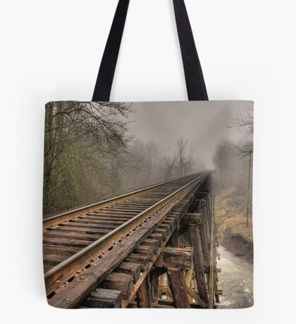 Track to some where Tote Bag