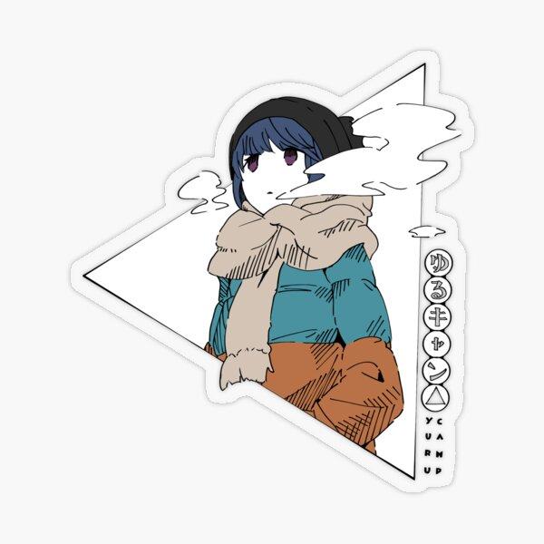 rin shima yuru c sticker by kanashimu redbubble