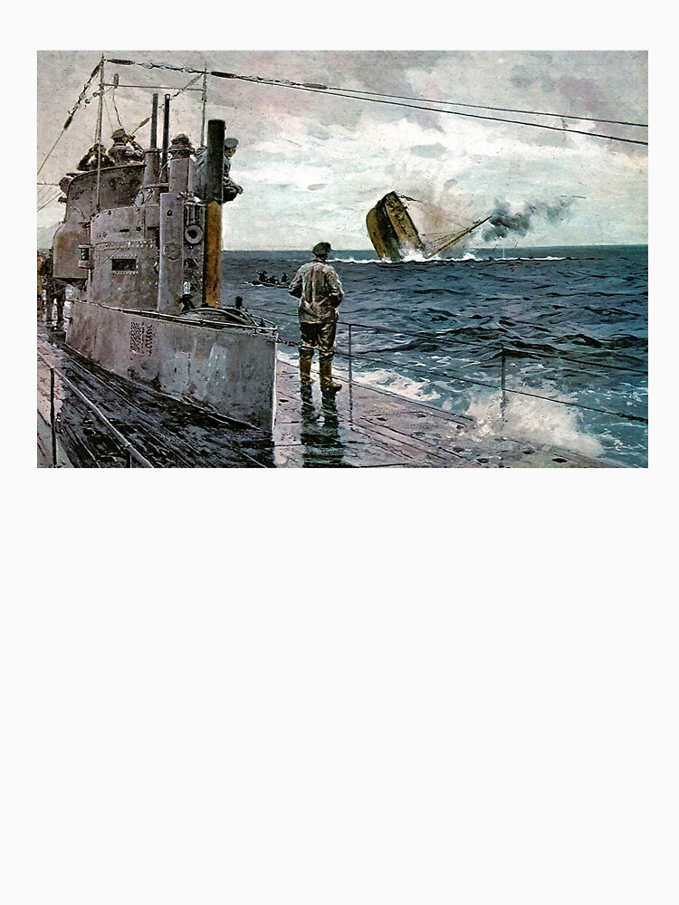 German Kriegsmarine U-Boat in WWI by edsimoneit