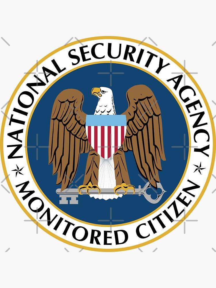 NSA Monitored Citizen by adidabu