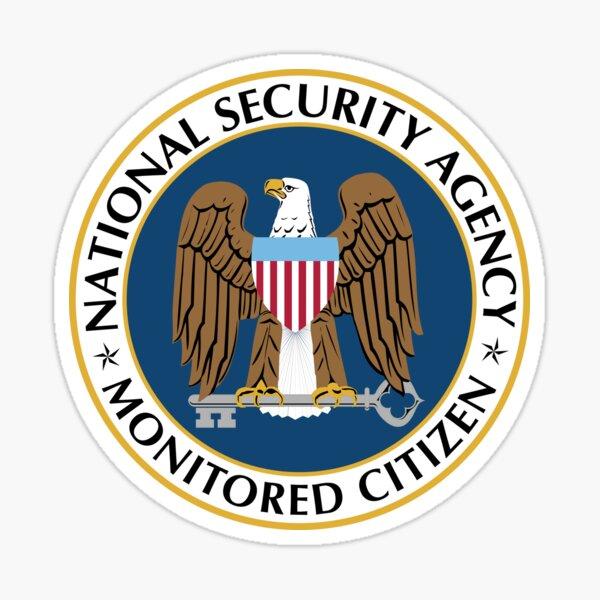 NSA Monitored Citizen Sticker
