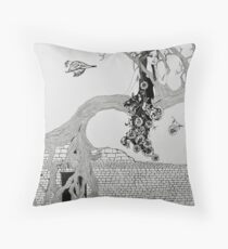 St. Rita and the Fig Tree I Throw Pillow