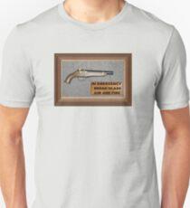 Emergency Flintlock Pistol Unisex T-Shirt