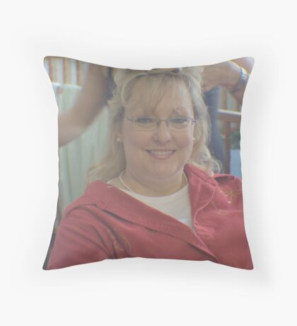 Last Step Throw Pillow