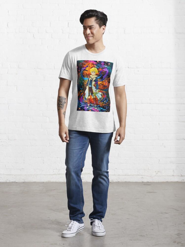 Camiseta «dragones de colores sin» de hustlart - Redbubble
