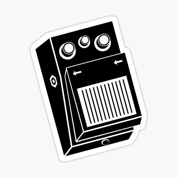 Guitar Effects Pedal Sticker