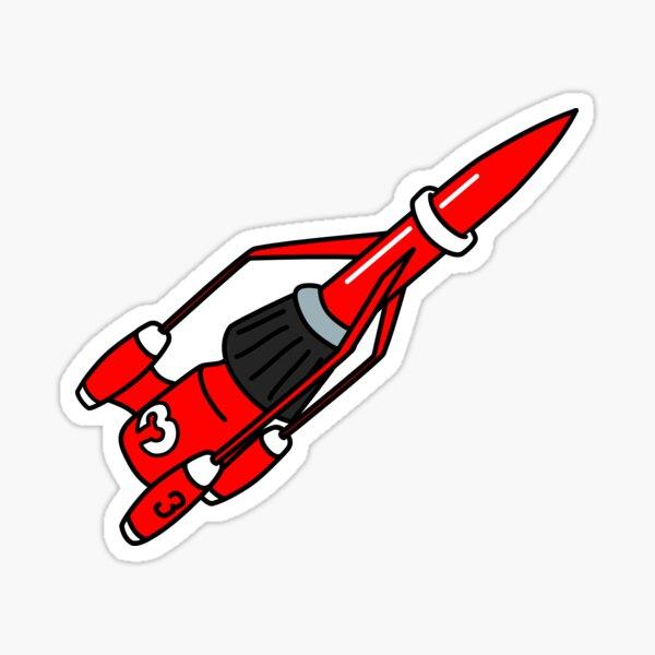 UEA GeekSoc - Thunderbird 3 Sticker