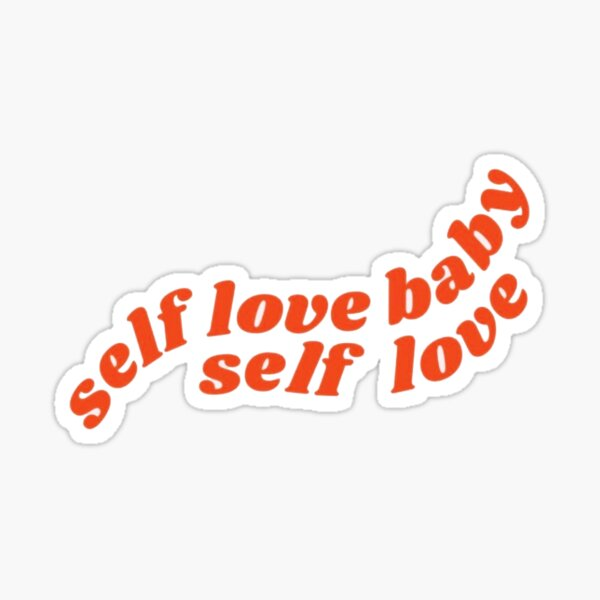 self love baby self love Sticker