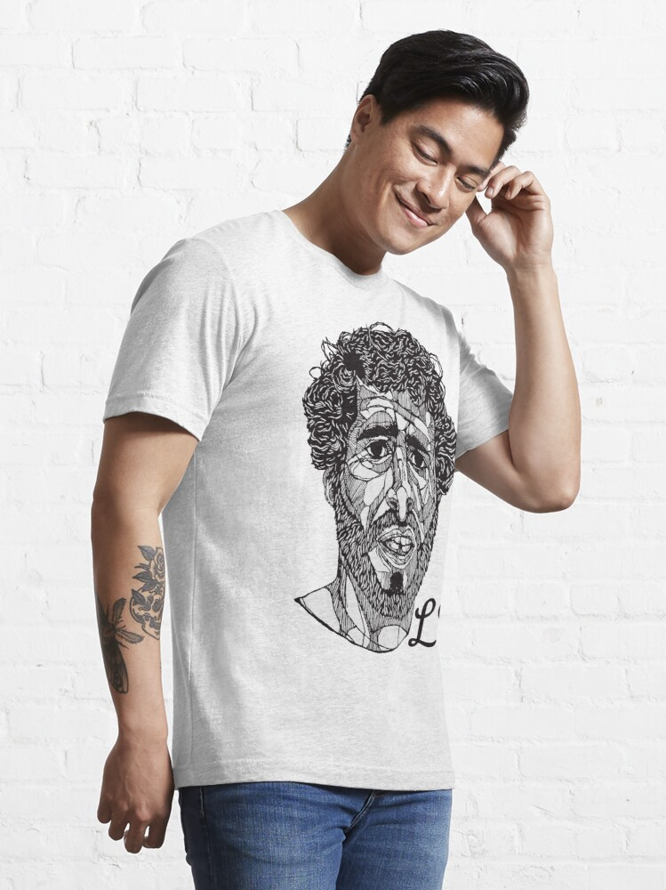 Alternate view of Lil Dicky - Lines Initialed Essential T-Shirt
