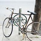 bike rack south st-philadelphia by Deweyreg