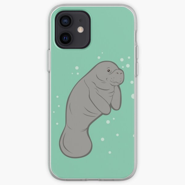Save The Manatees! iPhone Soft Case