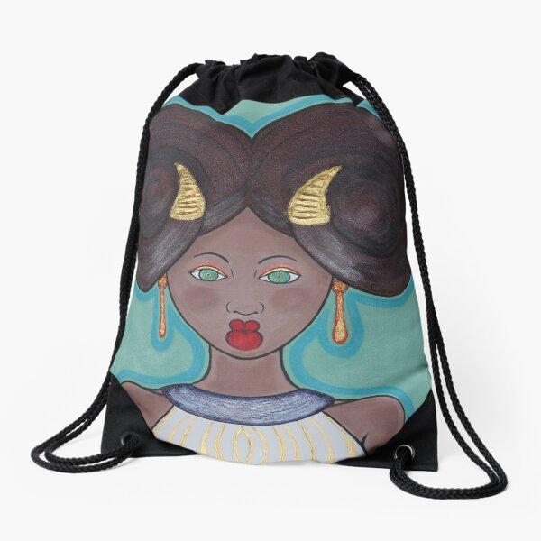 Zodiac Art Drawstring Bag