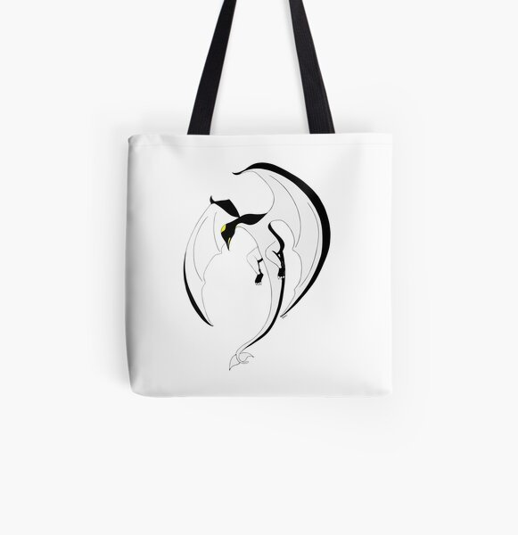 The Penguin-Dragon (Second evolution) All Over Print Tote Bag