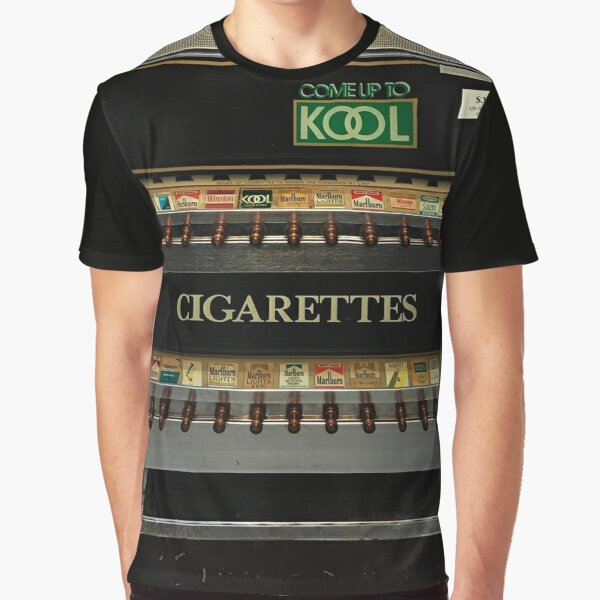 Cigarette Vending Machine - Come up to Kook Graphic T-Shirt