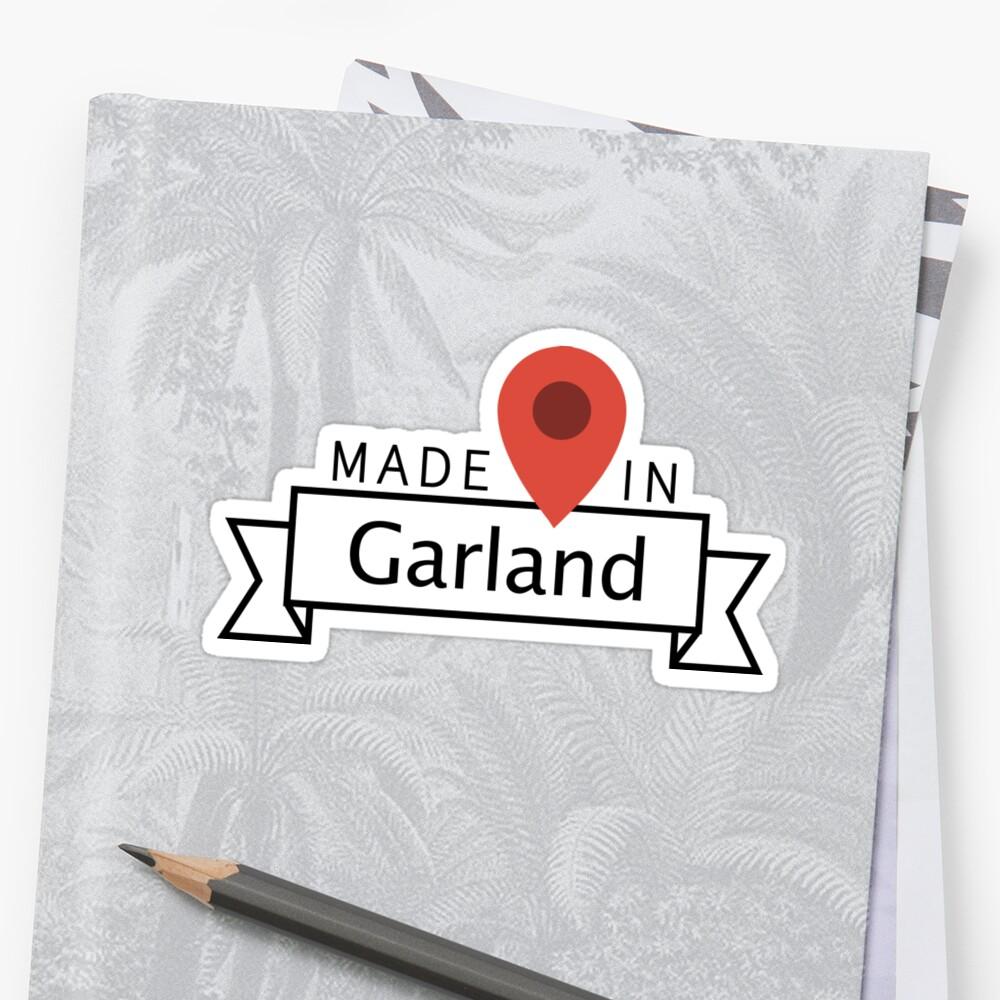 Garland Stickers