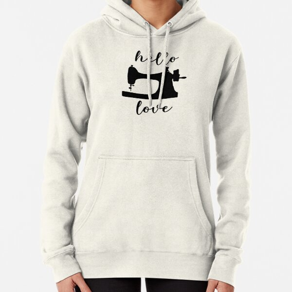 Hello Love Pullover Hoodie