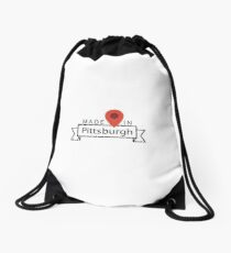Pittsburgh Drawstring Bag