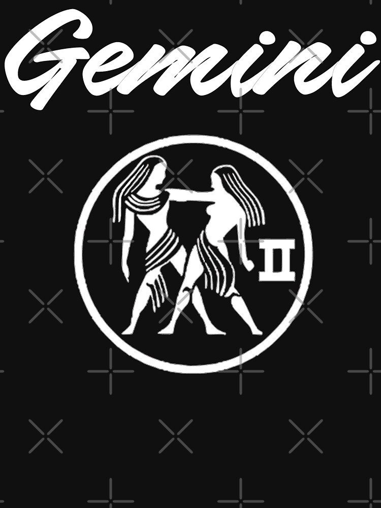 Gemini T-Shirt by Mbranco