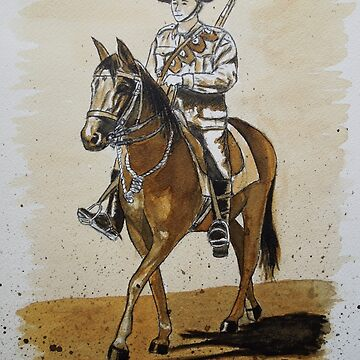Australian Light Horseman by pixie76