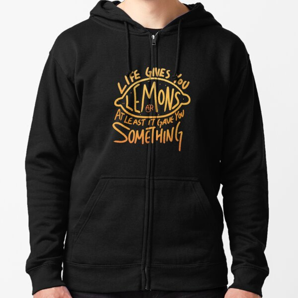 AJR - When Life Gives You Lemons Zipped Hoodie