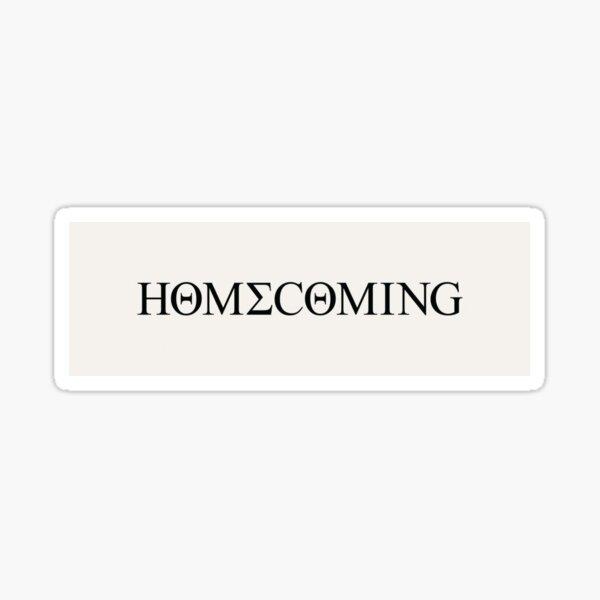 Homecoming Sticker