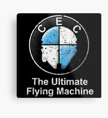 The Ultimate Flying Machine Metal Print