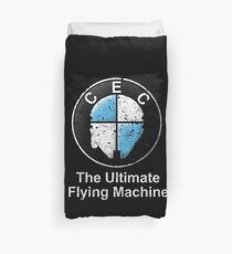 The Ultimate Flying Machine Duvet Cover