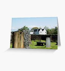 C18th manse on Contin Island, Ross-shire Greeting Card